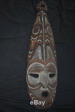 Orig $399PAPUA NEW GUINEA TAMBANAUM MASK EARLY 1900S 26 JEAN LAURENT EST