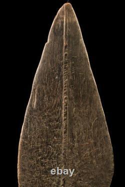 Pagaie, paddle, sepik river, oceanic art, primitive art, papua new guinea