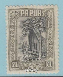 Papua New Guinea 109 Mint Hinged Og No Faults Extra Fine
