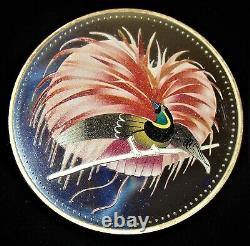Papua New Guinea 1994 Paradise Bird 25 Kina 4.0444 oz Silver Coin, Proof