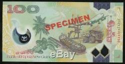 Papua New Guinea, 2014 100 Kina, Specimen Banknote Uncirculated