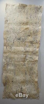 Papua New Guinea Barkcloth Ceremonial Baining Cloth Tapa Cloth 74