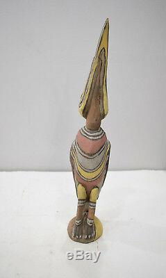 Papua New Guinea Bird Wood Statue Sabut Creation Myth Bird