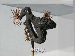 Papua New Guinea Cassowary bone Lime Spoon circa 1940s