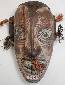 Papua New Guinea Ceremonial Wood Mask