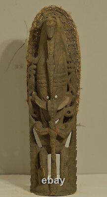 Papua New Guinea Figure Ancestor Totem Sepik River Crocodile Totem Figure