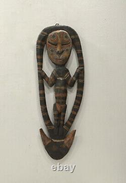 Papua New Guinea Food Hook Statue Latmul Tribe Food Hook
