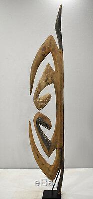 Papua New Guinea Garra Cult Hook Figure Hunstein Mountains Water Spirit Hook