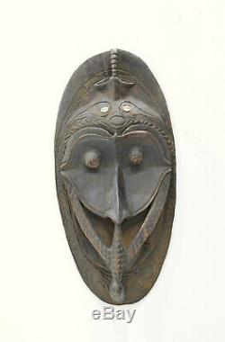Papua New Guinea Mask Kandingai Village Conus Shells Ceremonial Mask