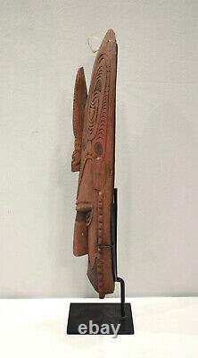 Papua New Guinea Mask Murik Lakes Lower Sepik River Spirit Mask