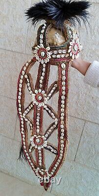 Papua New Guinea Sepik -Bridal Headgear/Cap-Bridal Headdress- Shell Wedding Veil