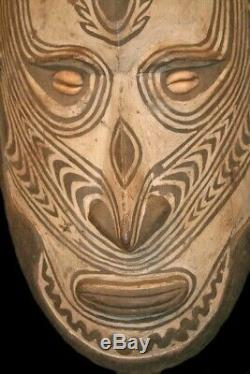 Papua New Guinea Sepik River Iatmul Ancestor Spirit Mask