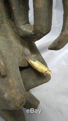 Papua New Guinea Sepik River Region Birdman Ancestor Figure Wood Carving