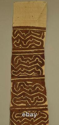 Papua New Guinea Skirt Bark Cloth Collingwood Bay Ceremonial Bark Cloth Skirt