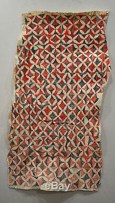 Papua New Guinea Tapa Barkcloth Ceremonial Baining Tapa Cloth