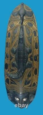 Papua New Guinea Very Large Ancestor Mask Great Carving