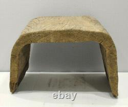 Papua New Guinea Wood Canoe Stool or Seat