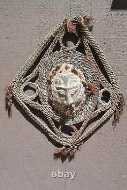 Papua -New Guinea-sepik-oceanic art-sculpture-vintage-22 x 17