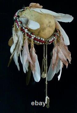 Papua new guinea Asmat head