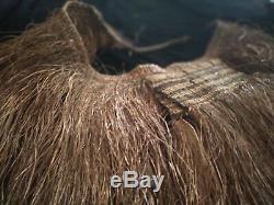 Papuan Asmat tribal Skirt Papua New Guinea adornment ethnic