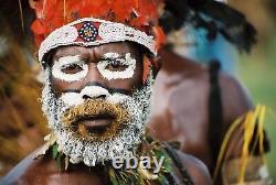 Parure frontale, papuan headdress, papua new guinea, oceanic tribal art
