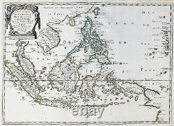 Philippines Borneo Sumatra Indonesia Papua New Guinea carte map Karte Sanson