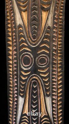 Planche votive, cult board, oceanic art, papua new guinea