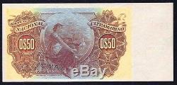 Portuguese Guinea (BOLAMA) 50 Centavos 1914 P-8 SPECIMEN UNC