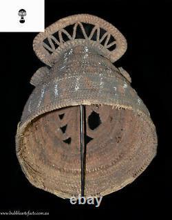 Powerful Rare Fine Baba Helmet Mask, Abelam, PNG, Papua New Guinea, Oceanic