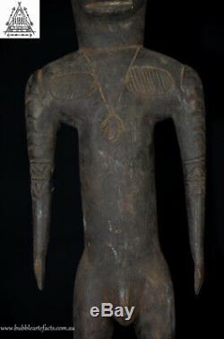 Primitive Fine Carved Sawos Spirit Figure, Sawos, PNG, Papua New Guinea, Oceanic