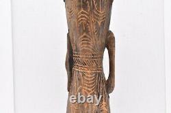 Primitive art Sepik river Papua New Guinea kundu dance drum carved wood