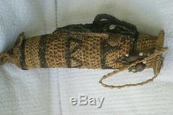 RARE MALE PENIS GOURD HAND PAINTED PHALLOCRYPT SEPIK PAPUA GUINEA Iatmul tribe