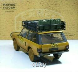 Range Rover Camel Trophy Edition Papua-New-Guinea 1982 DIRTY 118 Alomst Real