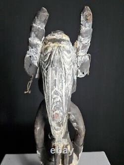 Rare Ancestor Spirit Fetish Figure, Mindimbit, Papua New Guinea, PNG, Tribal Art