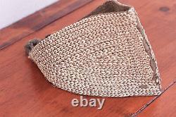 Rare Antique 18th-19th Century Papua New Guinea Tribal Shell Headband