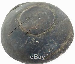 Rare Antique Png Papua New Guinea Carved Bowl From Boiken District, East Sepik