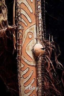 Rare Old Gope Board Papuan Gulf Papua New Guinea 1960's