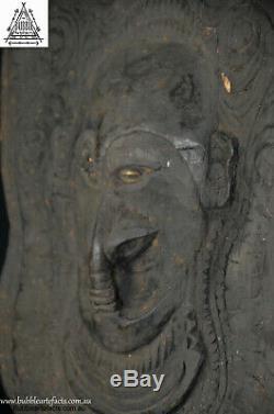 Rare Stunning Fine Ancestor Canoe Shield Mask, Kandingai, Papua New Guinea, PNG