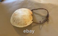 SBK Huge bailer shell pectoral breast ornament Papua New Guinea