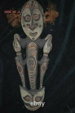 Sale! Papua New Guinea 2 Hornbill Cult Figure 19 Prov