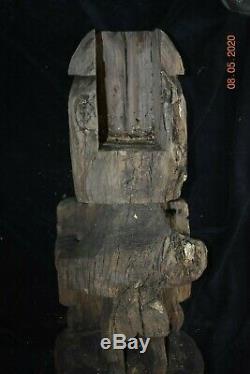 Sale! Papua New Guinea Biak Korawr Skull Figure 25 X 14 Prov