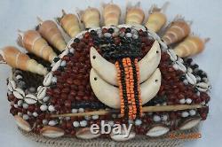 Sale! Papua New Guinea Witchdoctors Hat, Shells, 14 Prov