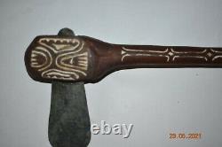 Sale! Papua New Guinea/asmat Stone War Axe 28 Prov