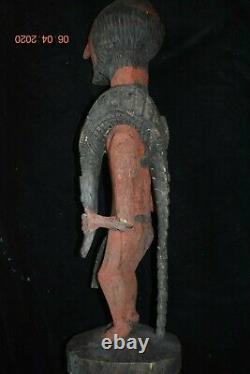 Sale! -mega Papua New Guinea Headhunter Figure 18 Prov