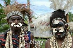 Sale! -mega Papua New Guinea Headhunters Beak Backpiece 16 Prov