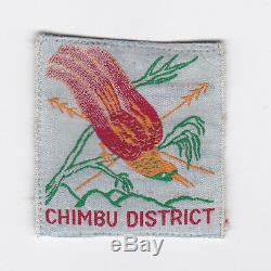 Scouts Of Papua New Guinea Png Scout Chimbu District Patch E++++ Scare
