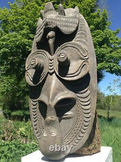 Sepik Spirit Mask From Papua New Guinea