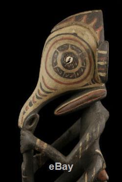 Sepik flute, traditional instrument, papua new guinea