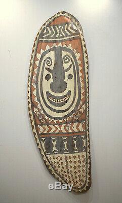 Shield Papua New Guinea Old Sepik River Shield