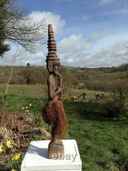Spirit Figure From The Sepik Region Of Papua New Guinea
